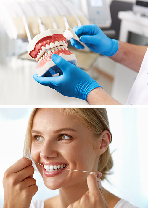 Profesionali dantų higiena